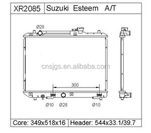 suzuki esteem radiator, suzuki esteem radiator suppliers and manufacturers  at alibaba com