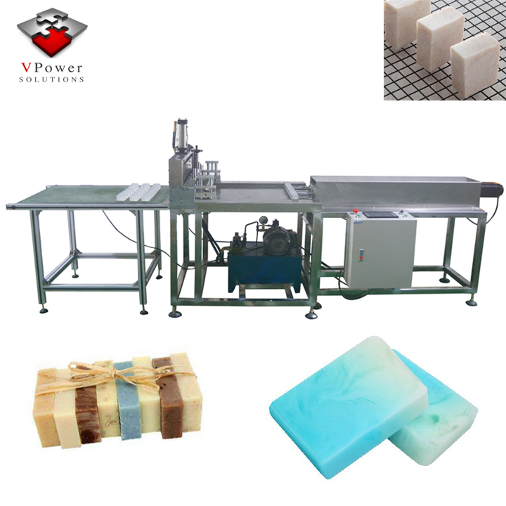 Guangzhou Factory Automatic Handmade Round Square Laundry Soap Cutting Machine ,Toilet Bath Soap Making Machine