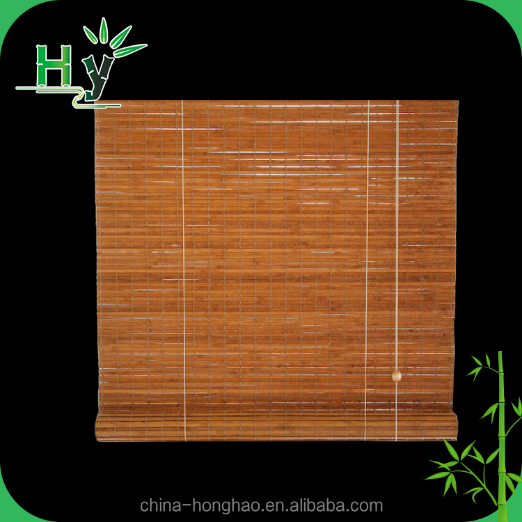 High quality vertical natural bamboo folding curtain
