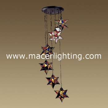 Hanging star moroccan stained glass star lantern brass ceiling light hanging star moroccan stained glass star lantern brass ceiling light aloadofball Gallery