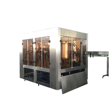 7000BPH Factory price carbonated Automatic manufacture glass bottle carbonated filling machine