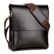 China Wholesale High Quality PU Leather Business Polo Bag Messenger For Man