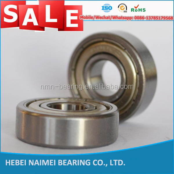 China Supplier Low Noise 6001RS/RZ/ZZ Deep Groove Ball Bearing for Hoverboard