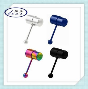Powerful Metal Vibrating body piercing jewelry Tongue Bar Tongue Ring Vibrating Body Jewelry piercing