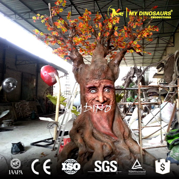 MY DINO-APS019 Animatronic Talking Tree for Indoor and Outdoor Sculpture