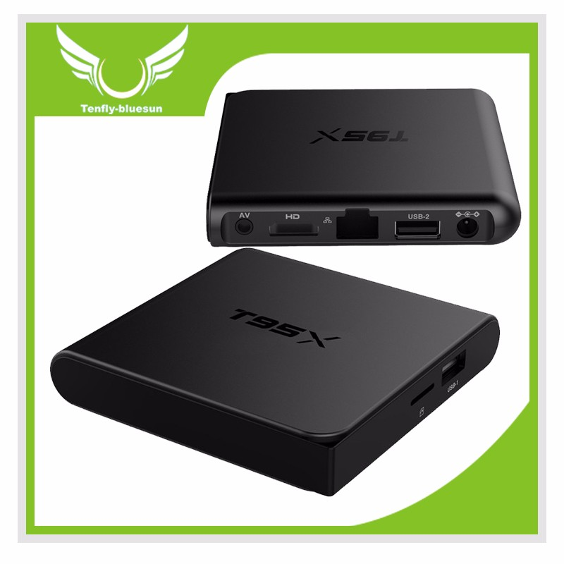 T95X Android 6.0 Tv <strong>Box</strong> Kodi 16.1 <strong>Media</strong> Player Network <strong>Set</strong> <strong>Top</strong> <strong>Box</strong> 2Gb 16Gb install free play store app google play download