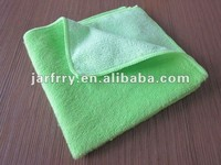 microfiber +bamboo fiber cleaning cloth
