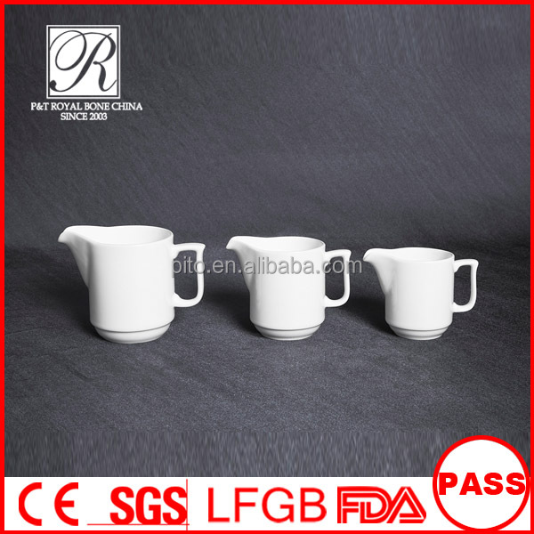 Longdom royal ware,milk jug, porcelain creamer for hotel