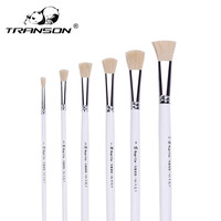High Quality Wool Wood Oil Painting Brush Set Watercolor Brush Pen Art Supplies Professional Paint