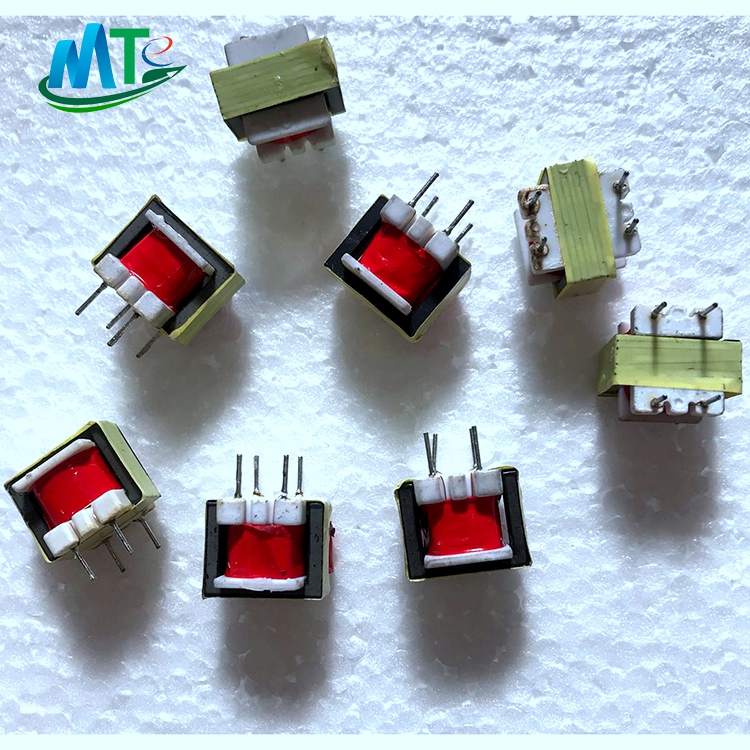 6v audio transformer EI14  audio isolation transformer with CLIP