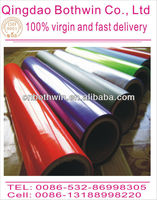 Transparent glue self adhesive polyester film heat-resistant self adhesive pvc film
