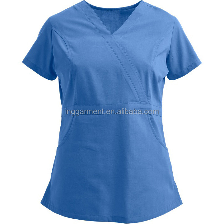 Women's Multi Pockets Designer Nurse Medical Hospital Uniform