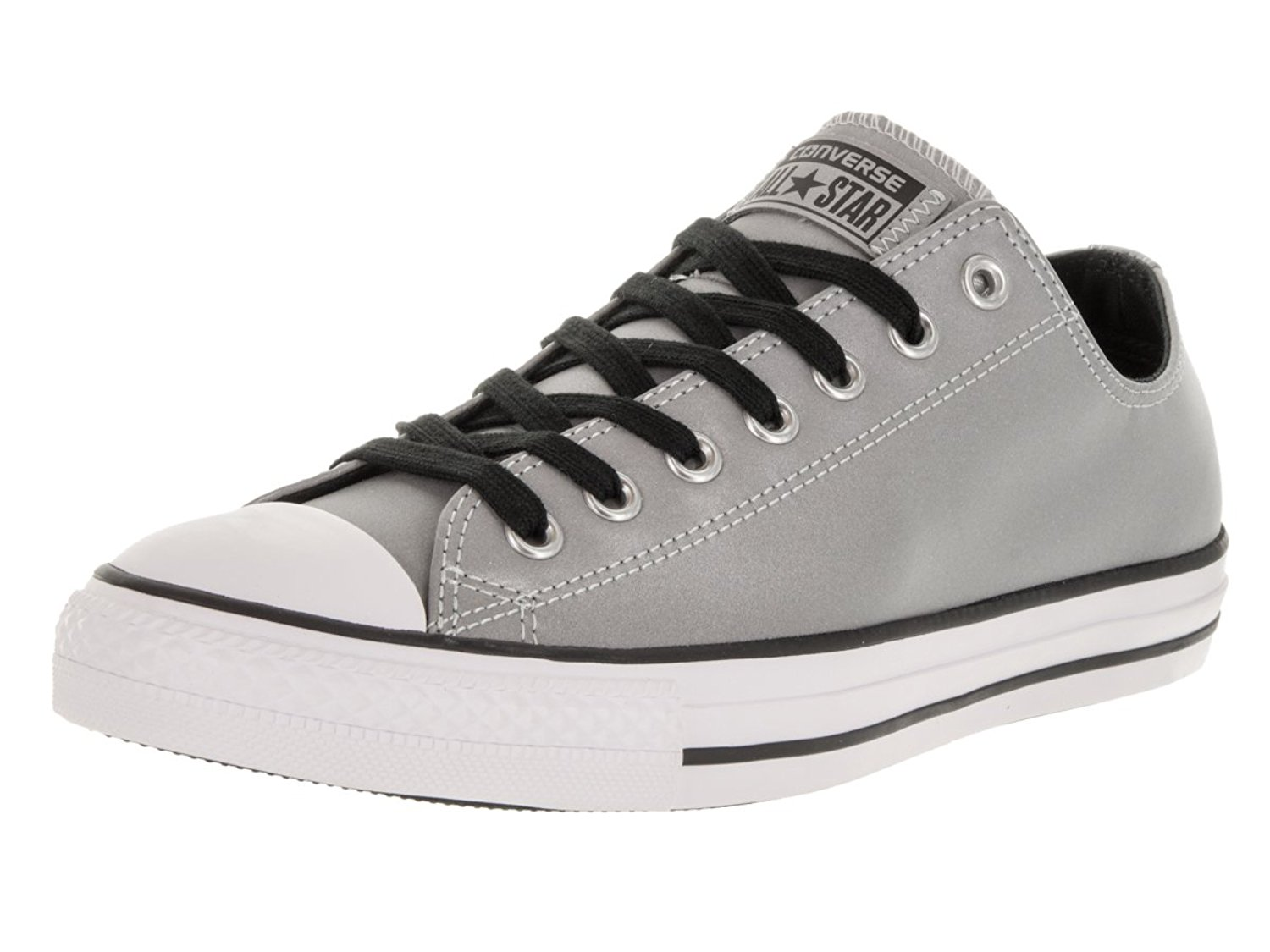 2f4d87a9dd36 Get Quotations · Converse Chuck Taylor All Star OX Men Round Toe Synthetic  Sneakers