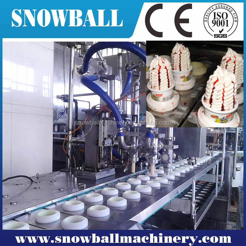 Industrial grade ice cream filling filler /linear filling machine/3600pcs/h-12000 pcs/h popsicle filing machine