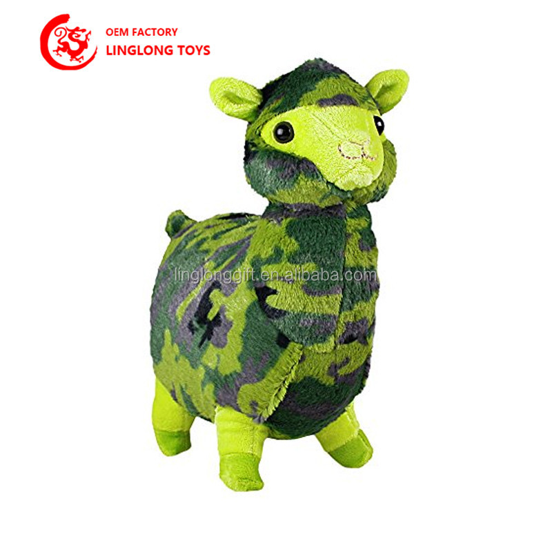 Manufacturers Selling Forest Animal Plush Toy Colorful Standing Stuffed Plush Animal Doll Customized Corporate Mascots with Logo