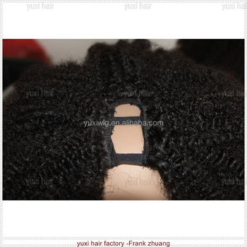 Big selling afro kinky curly U part wig