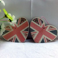 UK Flag Printed Promotional Paper Air Freshener