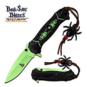 "DS-A036GN DARK SIDE BLADES 8x55lrvsr4 DS-A036GN SPRING 0q5g3ue9 ASSISTED FOLDER hdjeert bncxzqwe34 SPRING ASSISTED 3MM STAINLESS STEEL GREEN BLADE ""3.25"""""" BLADE LENGTH TWO TO"
