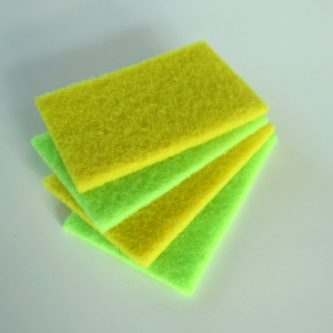 Manufacturer Kitchenware Clean Material Roll Kitchen Scouring Pad Dish Washing Sponge
