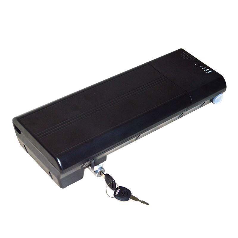 36V 13.6AH e bike battery pack rear rack type for replacement of 36V 9000Mah lithium battery, Customized