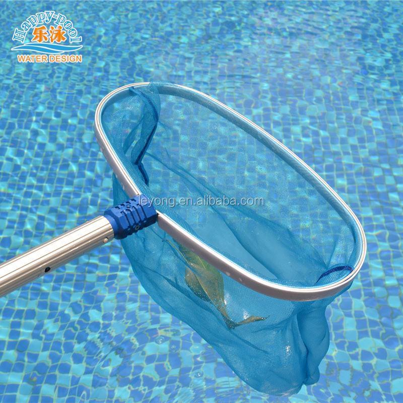 Swimming Pool Cleaning Accessories Aluminium Frame Deep Bag Rake Pool Leaf  Net Rake With Telescopic Pole - Buy Leaf Rake,Swimming Pool Leaf Net ...