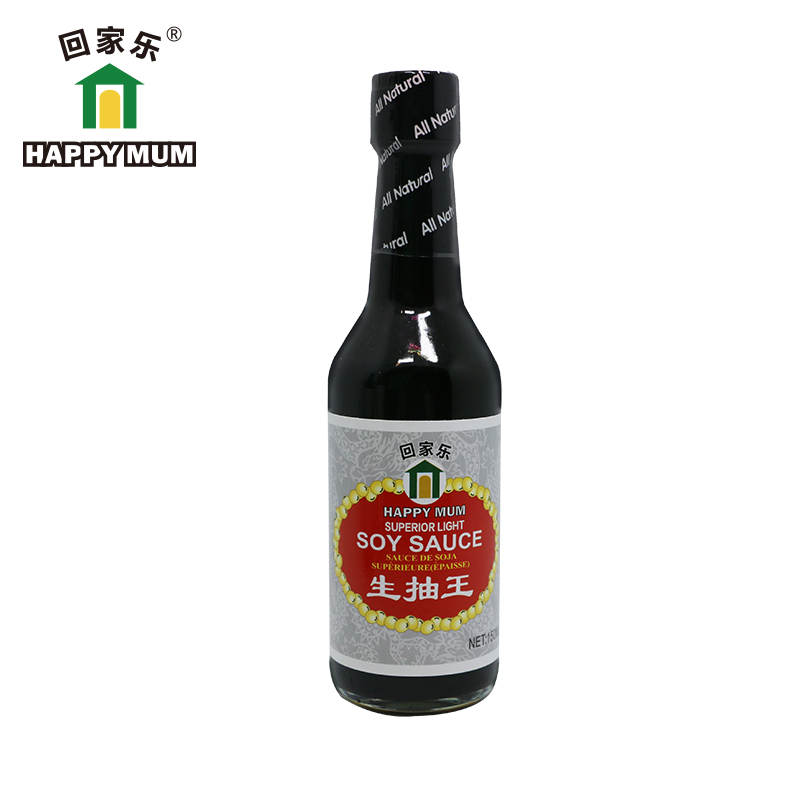 Halal Natural Brewed Superior 500ml Light Soy Sauce