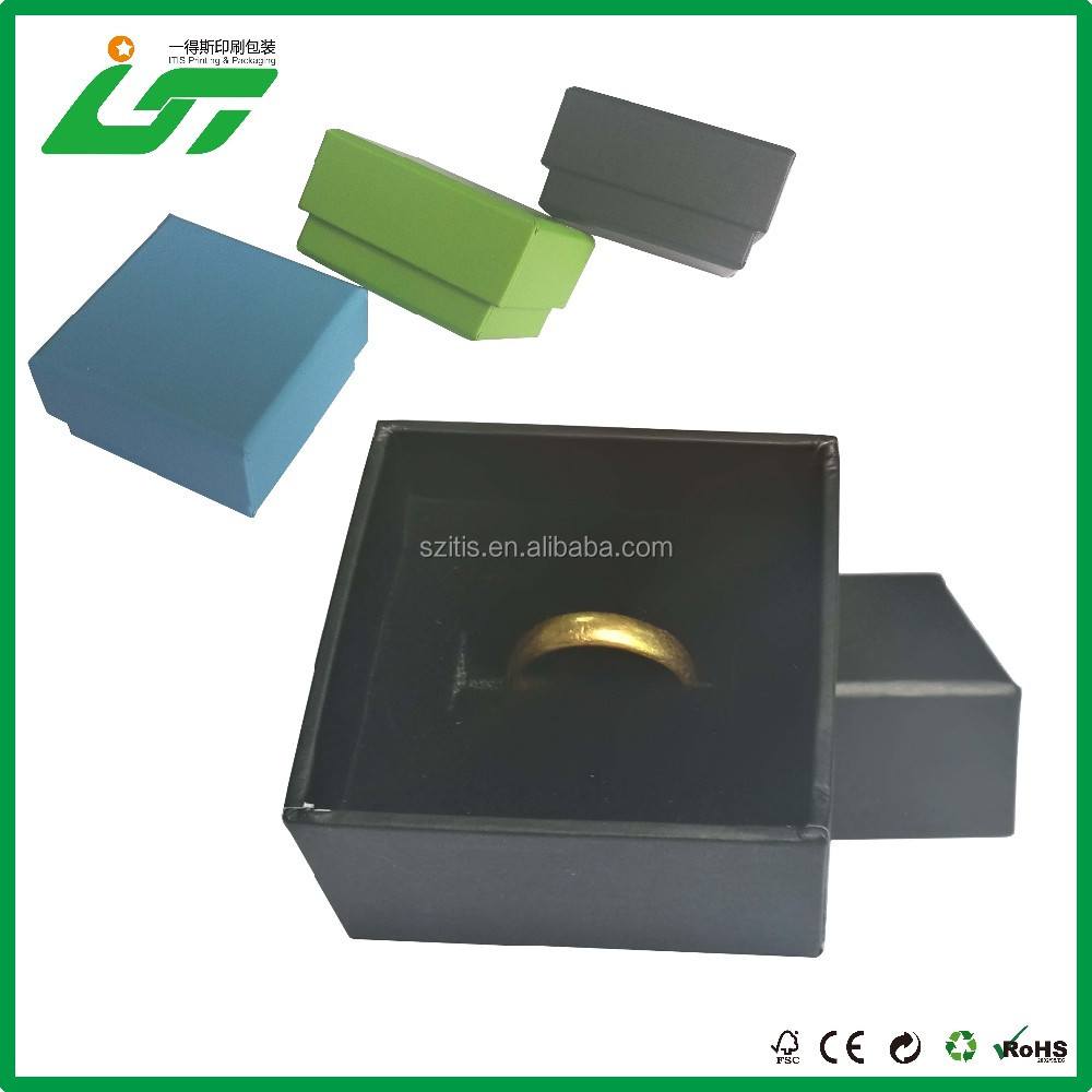 Wedding Favors Gifts Rectangle Jewellery Box Custom Cardboard Jewelry Boxes Wholesale
