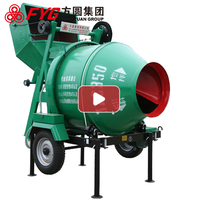 2016 newest hot selling concrete pan mixer price JZC350