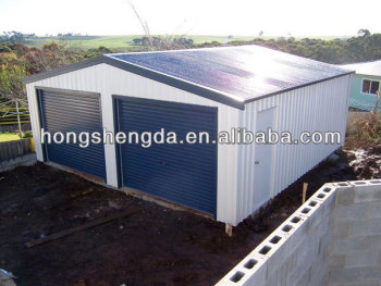 Prefabricated Sandwich Panel Garage/ One Car Garage Kits /garage Motorcycle  Storage