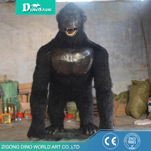 Hot Sale Indoor Playground Life Size Orangutan Model