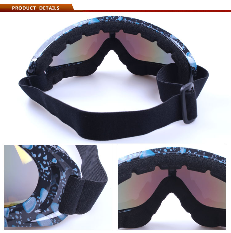2016 new style cheap high quality racing motorcycle glasses motorcycle sunglasses with PC/TR90 Material