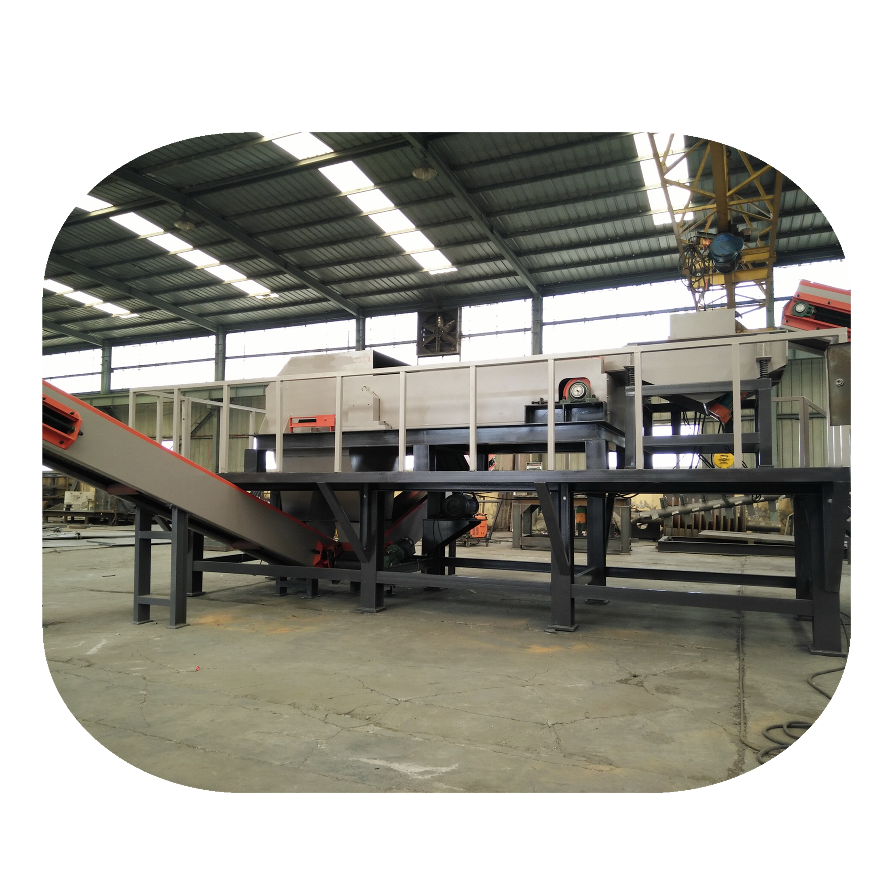 <strong>Scrap</strong> Aluminum Eddy Current Separator Recycling Plant