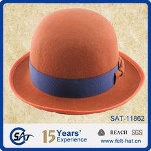 Orange Bowler Hat fb5d400ece4