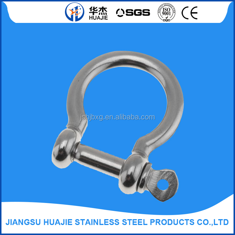 SS 304 Adjustable Bow and D Shackle