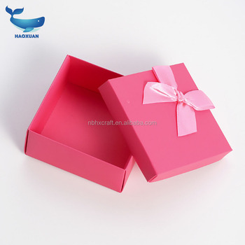 MSSP0001 HAOXUAN Eco custom made stampato flat pack pieghevole scatole di carta regalo