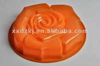 Microwave safe Rose Flower Shape Silicone Cake Pan/Mould/Case for Wedding