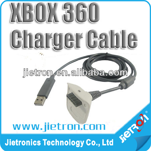 Wireless Remote Control USB 2.0 Console Controller Charging Cable Lead For Xbox 360