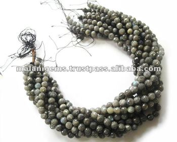 10 Mm Natural Labradorite Round Ball Facet Calibrated Loose Beads ...