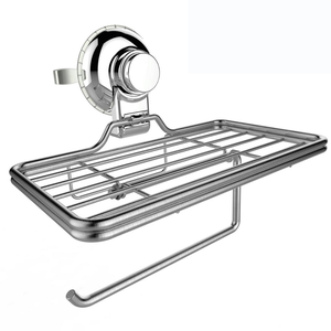 304 stainless steel rack plastic chrome base toilet paper holder