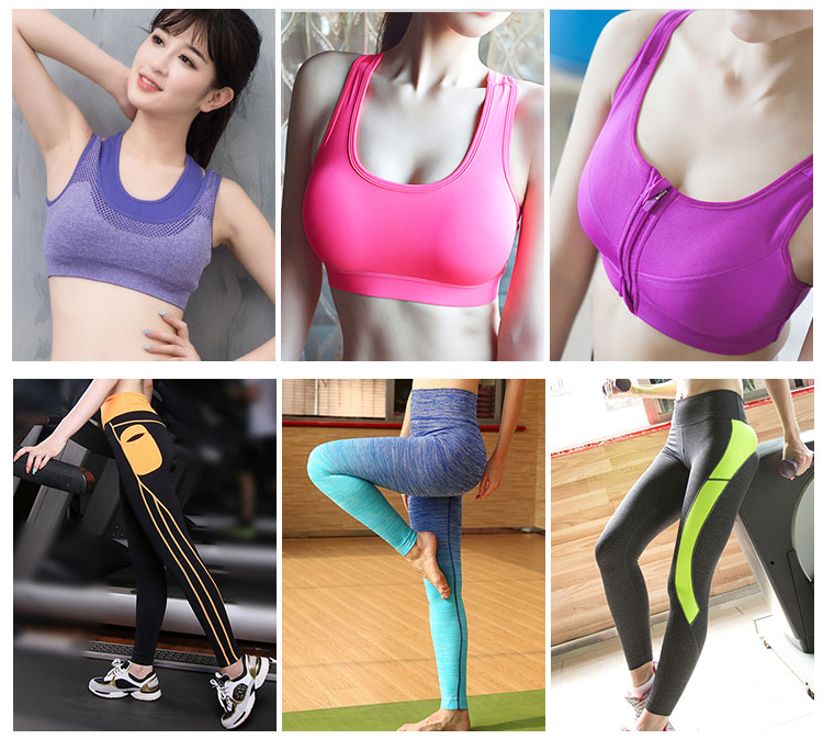 2018 Newest Hot Girl Quick Dry Breathable Training Sports Bras