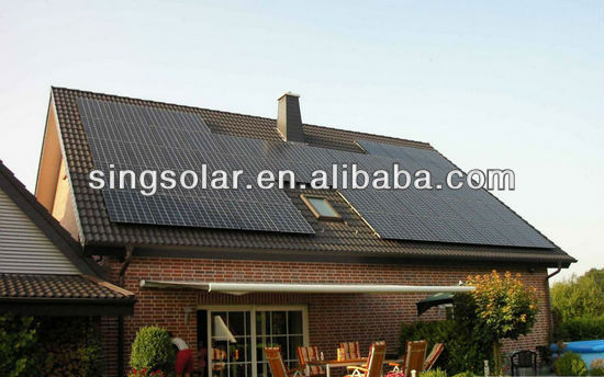 On Grid 5KW Solar System With Easy Installation For Rooftop