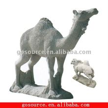 natural stone camel sculpture