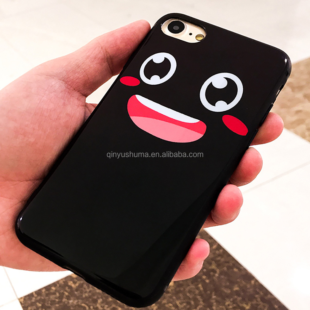 Free sample hot sale supreme General supple silicone light cute cartoon customised for iphone 6 6s plus cell phone case