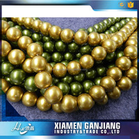 China cheap manufactures of mother pearl beads for jewelry display