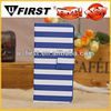 New product for 2013 phone case with strip pattern,flip case cover for iphone 5c