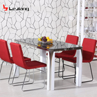 Free Sample Dubai Marble Expandable Modern Folding Wall Restaurant Foldable Chairs Dining Table From Pakistan
