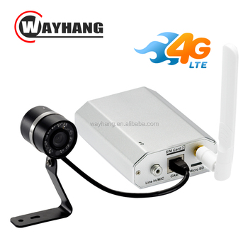 NEWEST 4g sim card ip camera 1080P network Camera with Night Vision Mic Speaker