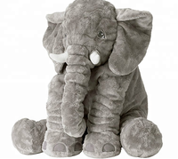 Kawaii dropshipping plush Elephant Stuffed Animal Toy Plush Gifts Toy for Kids Gift 24 inch (60x45x25cm)