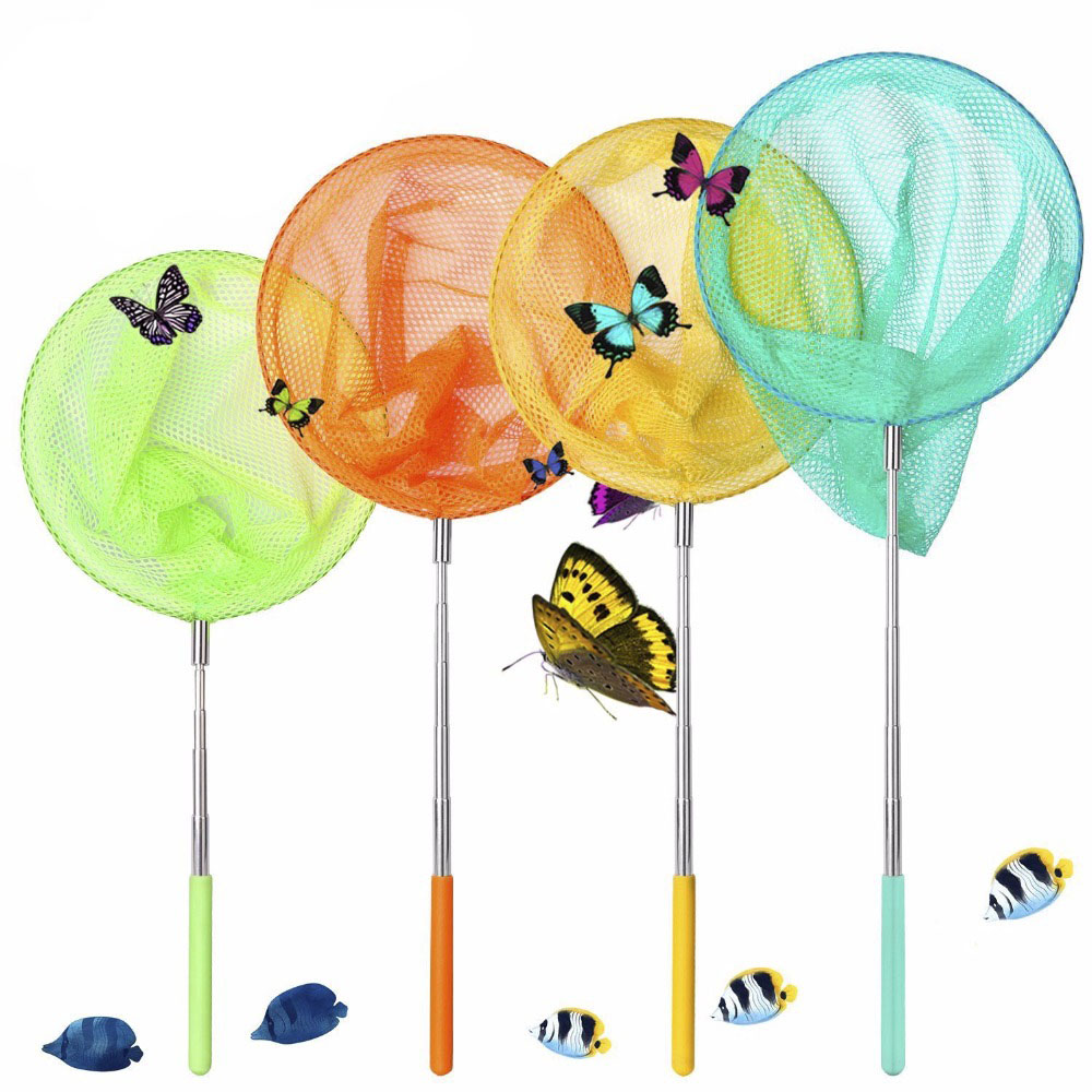 Green Outdoor Bug Nets for Kids to Catch Butterfly Insect Kids Garden Toy