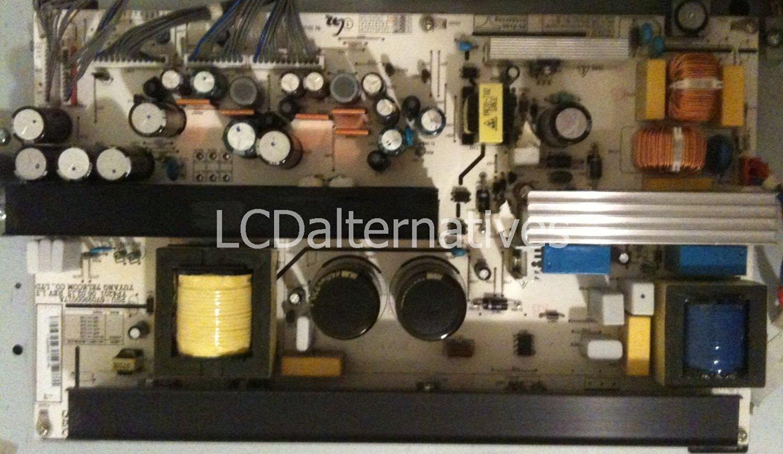 LCD Monitor Not The Entire Board LG 47LC7DF-UK Capacitors Repair Kit